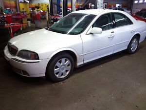 2005 Lincoln LS great winter car PIRELLI SNOW TIRES