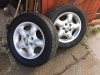 Landrover Freelander Alloy Wheels x 2
