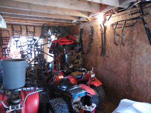 all kinds of parts for honda 3 wheelers and 4 wheelers