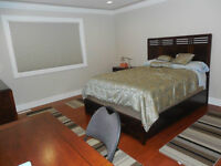 Hotel Room fully furnished w/Ensuite Bathrm TV Frdg WiFi Parking