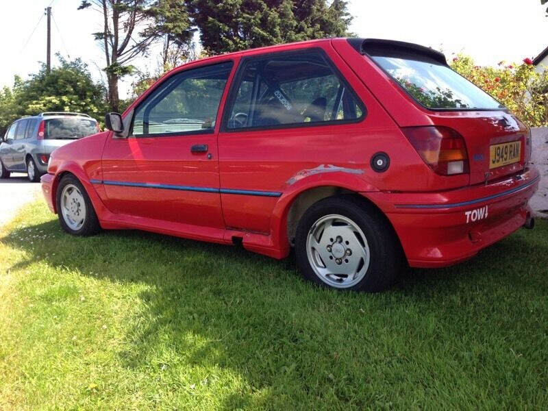 1991 ford fiesta xr2i 1 6 ideal winter project rally all track prepared in londonderry. Black Bedroom Furniture Sets. Home Design Ideas
