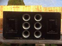 Vibe twin 2400 watts speaker