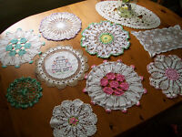 Vintage Collection of Hand Made/Embroidered Linens
