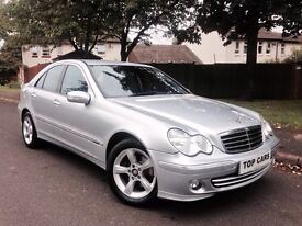 IMMACULATE 2006 MERCEDES C220 CDI AVANTGARDE FULL SERVICE HISTORY HPI CLEAR