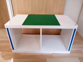 Ikea Kallax Lego Table White 2 Cube