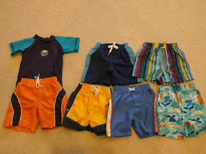 12 mo swim shorts
