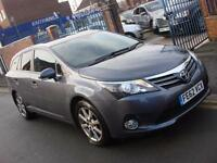 2012 62 PLATE Toyota Avensis 2.0D-4D T4 5dr Estate in Grey