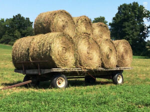 Hay for sale - large round 4X5 bales