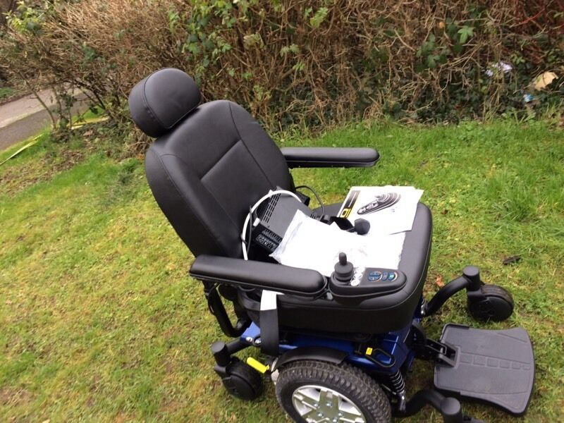 Power chair as new pride jazzy 600 Es mobility scooter   in ...