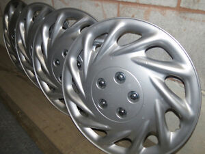 "Wheel Covers 17"" Set of 4 Silver Peterborough Peterborough Area image 2"