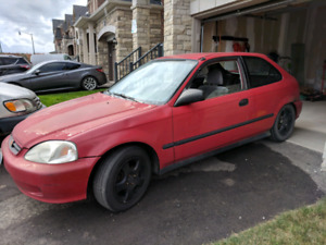 2000 Honda Civic CX for Sale, dropped GSR motor