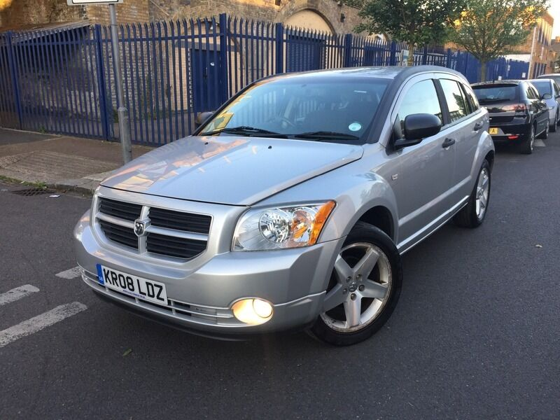 dodge caliber sxt sport silver 2008 in forest gate. Black Bedroom Furniture Sets. Home Design Ideas