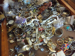 HUGE COLLECTION OF STERLING SILVER AND COINS FOR SALE
