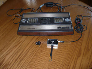 INTELLIVISION CONSOLE & GAMES.