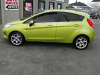 2011 FIESTA SES TITANIUM HATCH..LEATHER-SUNROOF-TOP OF THE LINE