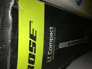 Bose Portable Compact Line Array Sound System