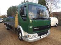2005 DAF LF 45.150 - 22FT FLATBED - 7.5 Ton