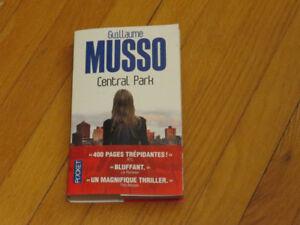 GUILLAUME MUSSO/ CENTRAL PARK /littérature