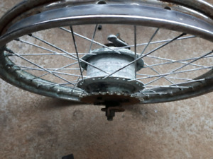 Honda moped wheel 16""