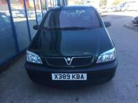 Vauxhall Zafira 1.6i 16v Club 7 SEATER - 2001 X-REG - 6 MONTHS MOT