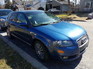 2007 Audi A3 Fully Loaded, Leather. Panoramic, AC, HeatedSeat