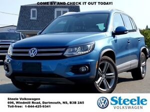 2017 VOLKSWAGEN TIGUAN Highline - Certified, Low Mileage, Off-Le