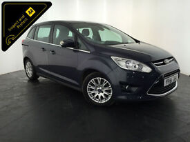 2012 FORD GRAND C-MAX TITANIUM TDCI 7 SEATER 1 OWNER SERVICE HISTORY FINANCE PX