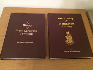 Wellington County History Books by Jean Hutchinson