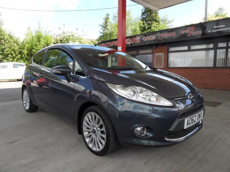12 (62) FORD FIESTA 1.6 TITANIUM 3DR ONE OWNER, FULL DEALER HISTORY