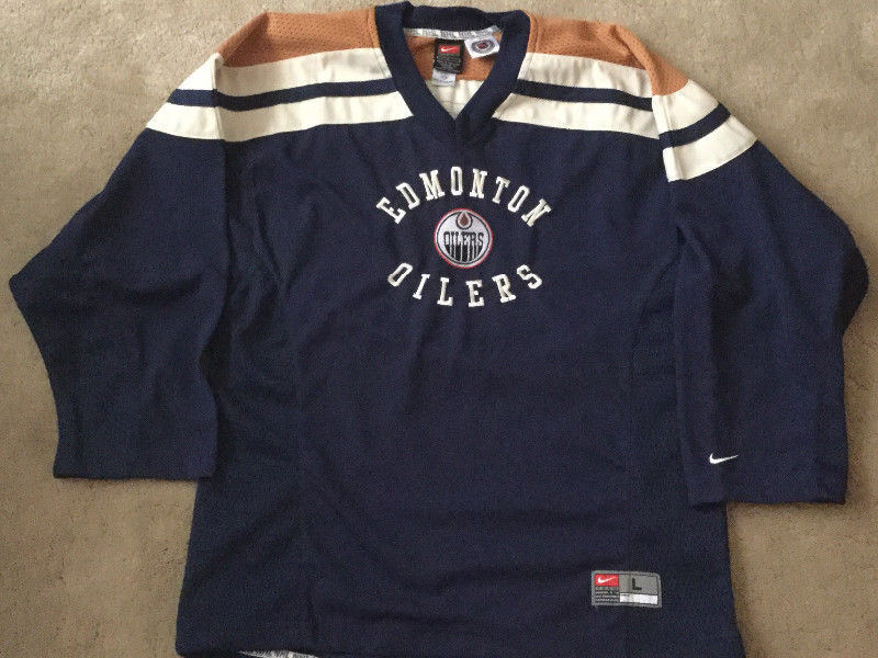 separation shoes c1448 39ead Edmonton Oilers Jersey NIKE Youth 14-16