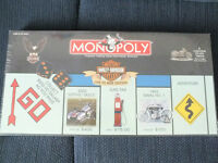 HARLEY DAVIDSON MONOPOLY LIVE TO RIDE 8 TOKENS / BLACK DICE