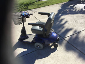 Invacare traveler mobility scooter