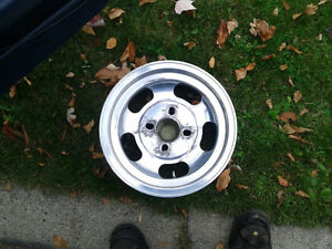 "13"" aluminum polished rims Prince George British Columbia image 4"