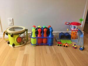 Lot de 3 jouets