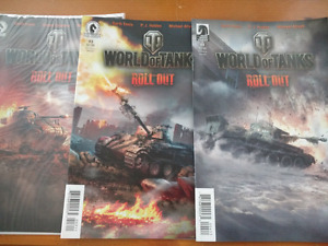World of Tanks Roll Out Comic Book lot (3)
