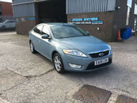 2009 FORD MONDEO 1.8TDCi 125 6 SPEED ZETEC,ONLY 1 FORMER KEEPER,NICE FAMILY