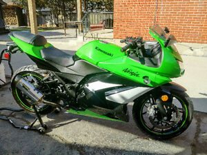 IMMACULATE SHAPE SPECIAL EDITION NINJA 250