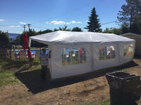 wedding/party tent