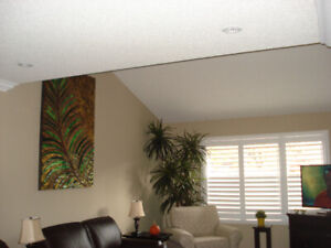 Realistic 8' Indoor Palm Tree With Real Wood Trunk