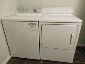 Washer and dryer REDUCED TO $100