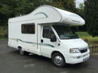 Bessacarr E435 5 Berth motorhome in outstanding condition