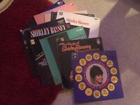 "Shirley Bassey 12"" vinyl records albums £20"