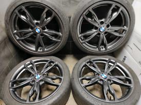 18 inch 5x120 genuine BMW 1 series 436M Msport alloy wheels