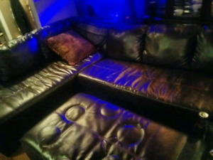 Leather Sectional great condition