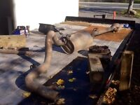 COMPLETE EXHAUST-FORD E450 with 6 LITRE DIESEL