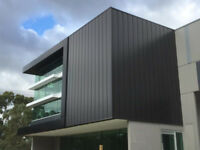 Metal Cladding, Roofing and ACM, Insulated panels installation