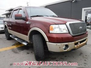 2007 FORD F150 KING RANCH SUPERCREW 4WD KING RANCH