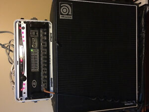 Ampeg Amp and Cab for TRADE or best fair cash offer