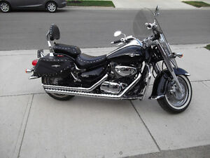 2007 SUZUKI BOULEVARD C90T FOR SALE $6,900 LOTS OF EXTRA CHROME
