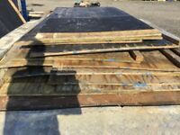 Plywood boards used x 8ft x 4ft x 59 sheets.